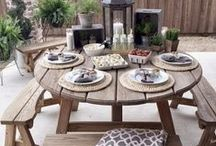 Styling Your Outdoor Space / Use these seasonal decorating tips and great prices on outdoor living essentials from Tuesday Morning to transform your porch and patio this season.
