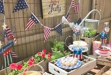 4th of July / Make this Independence Day unforgettable with Americana décor, patriotic recipes and outdoor activities made for celebrating.