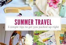 Summer Travel / Discover vacation destination ideas, packing tips and great deals on travel essentials from Tuesday Morning.