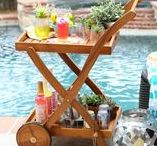 Pool Party / There's no better way to cool off than by hosting a pool party! See how you can make a splash with refreshing recipes, pool toys, floats, games and more from Tuesday Morning.