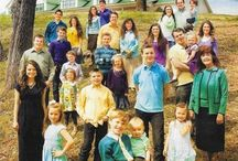 The Duggar family / Because they are an inspirational family / by Jennifer Fleury Hiscox