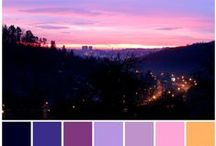 My colors / color schemes from my daily photos