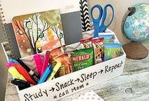 College Dorm Room / Sending them to college this fall? Discover decorating ideas and space-saving tips to transform their dorm. / by Tuesday Morning