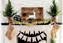Holiday Home Décor / Bring even more cheer to your home for the holidays with these delightful decorating ideas!