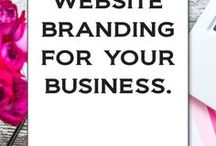 Brand your Website / All the best website tips for starting your own business and building it successfully!