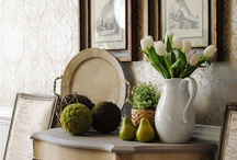 Divine Decorating / Lovely vignettes, color combos and collectible groupings / by Marlene Smith