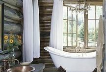 Bathroom ♥ / Beautiful bathrooms & smart storage solutions / by Marlene Smith