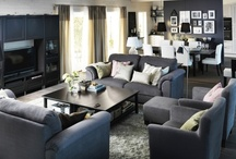 Living Room ♥ / Living room inspiration / by Marlene Smith