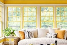 Garden Room-Sun Room / Nothing as relaxing as being able to watch nature all year long, no matter what the weather may be~~~~ / by Kevin Cavanaugh-Tucker