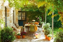 Garden Space / I love little spaces in the garden where you can hide away, read a book, have lunch or just relax~ / by Kevin Cavanaugh-Tucker