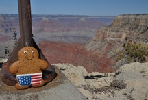 Gingerbread George on Tour! / Gingerbread George likes to travel around the globe, See his snaps here!