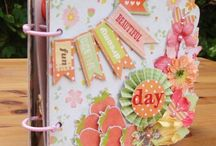 Scrapbook - Mini Albums & Notepads / by Doreen Page