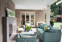 Porches, Patios and Sunrooms / Outdoor spaces, large and small.