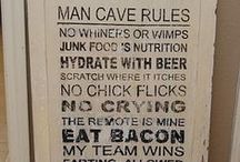 Man Caves / Because every man needs one