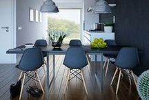 Woonstijl - Dining room / Not just for eating. The dining room now functions more as an extended living room.