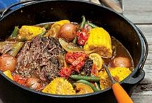 Dutch oven and cast iron / by Sharon Franz