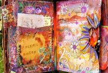 Art Journals - Creative Pages and Inspiring Artists