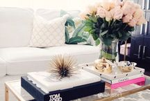 Coffee Tables / Coffee table styling. / by Claudia Ornelas