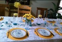 My Tablescapes / A collection of my tablescape themes for dinners with family and friends! / by Vera Schuster