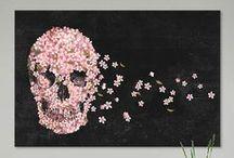 Skulls ♥ / Beauty in macabre / by Marilyn