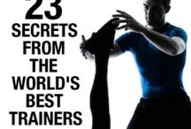 personal trainer / Exercise and training