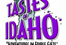 """Tastes of Idaho products / The best of """"Made in Idaho"""" Gourmet Foods, Huckleberry & Gifts!"""