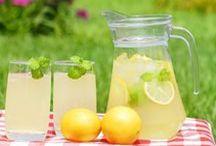 Limonády, ocet