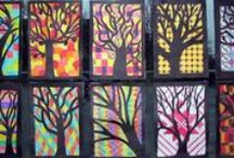 Classroom Crafts / Great classroom crafts and art projects to do in the upper grades!