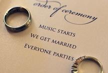 WEDDINGS / by kali jaeger