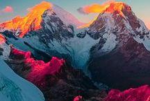 Multi-Colour inspiration / #moodboard #color #colors #colour #colours #combinations #combination #combo #rainbow #MultiColor