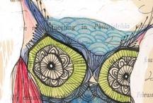 motif: owls