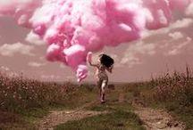 PINK / #colour #color #moodboard #inspiration #pink #fuschia #rose #cerise #magenta #shockingpink