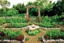 Vegetable Garden Design - Le Potager / Potager gardens are formal kitchen gardens.  They balance aesthetic with functional.  / by Foy Joy