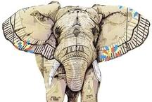 motif: elephants