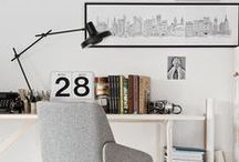 Office Interior & Workspace / An office deserves it as much as a home :)
