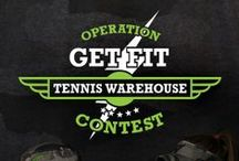 TW Contest: Operation Get Fit / You've been assigned to Operation Get Fit. Your first task, follow the link for more instructions: http://www.tennis-warehouse.com/pinterestcontest.html / by Tennis Warehouse