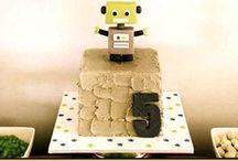 Robot and Rocket Party / Boys birthday  / by Elena Christensen