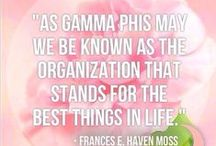 G A M M A   P H I   B E T A / PΓφβably the best decision I ever made.  / by Helen Elyse