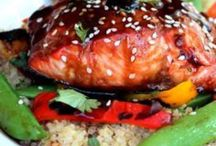 Seafood - Fish / Something fishy! / by Oree G.