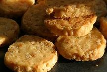 CRACKERS, BREADSTIX AND SAVORY COOKIES / When the salt cravings kick in... / by Oree G.