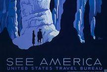 vintage tourism posters / by Eric Hibelot