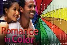 """Romance in Color / This board is about the upcoming """"Romance in Color"""" bundle release from Crimson Romance--10 full-length multi-cultural romances in one low-priced bundle! Available Nov. 16, 2015."""