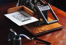 letterpress love / A love and appreciation of Letterpress