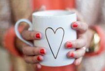 Coffee + Valentine / Valentine's + Coffee = LOVE