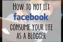 Facebook tips for bloggers / by Deby Coles