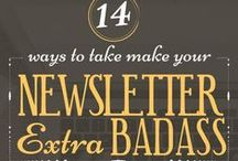 Newsletter tips for bloggers / by Deby Coles