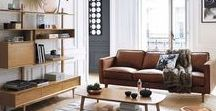 Wohnen / modernes Living Design / Wohnen / modernes Living Design: Modern wohnen mit klassischen und ausgefallenen Möbeln. Tolle Ideen zum Einrichten. Skandinavisch oder Landhausstil. Große Räume.