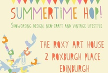 Summertime Hop / In celebration of the Made in the Shade Summertime Hop at the Roxy Art House, Saturday 24th July! Come and see these goodies & more from 10.30am til 5pm :) / by Cat McLaughlin