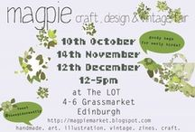 Magpie Market / A sneak peek at the exhibitors joining me at the Magpie Market! :) See http://magpiemarket.blogspot.com for more info. / by Cat McLaughlin
