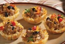 Phyllo Appetizer Things / by Debra Slaughter